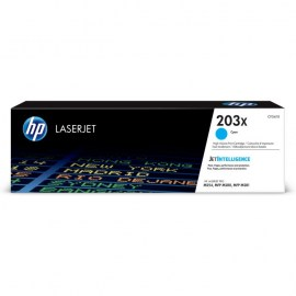 203X High Yield Cyan Original LaserJet Toner Cartridge